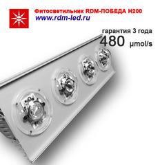 Партия 5 штук / Фитооблучатель RDM-ПОБЕДА Н200 ГИБРИД