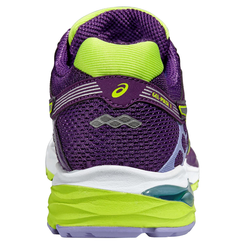 Женские беговые кроссовки Asics Gel-Pulse 7 (T5F6N 3293) фиолетовые фото пятка