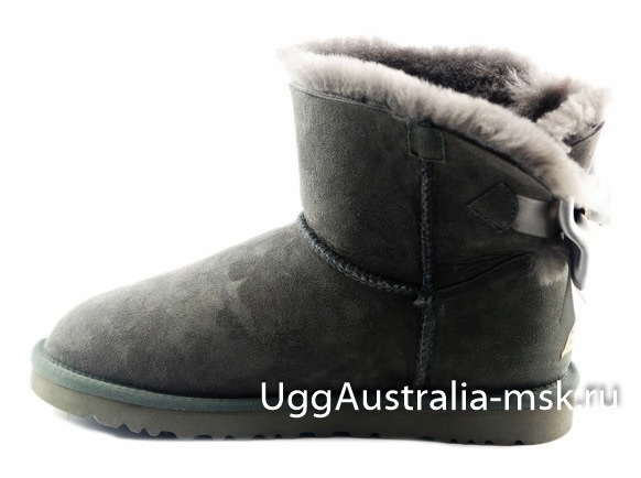 Ugg Bailey Bow Medallion Grey