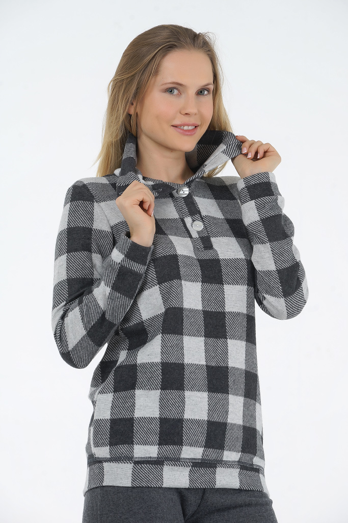 Зимний домашний костюм для женщин Rosapois (Домашние костюмы и пижамы)