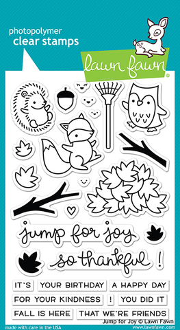 "Набор штампов Lawn Fawn Clear Stamps  ""Jump For Joy"""