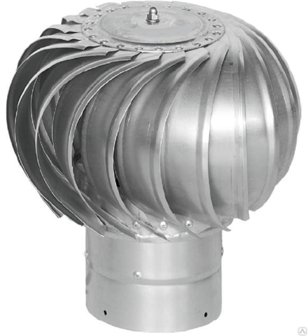 Турбодефлектор крышный ТД-150 оцинкованный