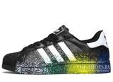 Кроссовки Мужские Adidas SuperStar Urban Black