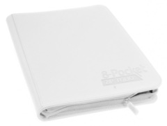 8-Pocket  ZipFolio XenoSkin White