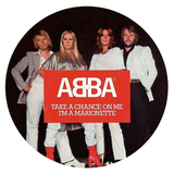 ABBA ‎/ Take A Chance On Me, I'm A Marionette (Picture Disc)(7' Vinyl)