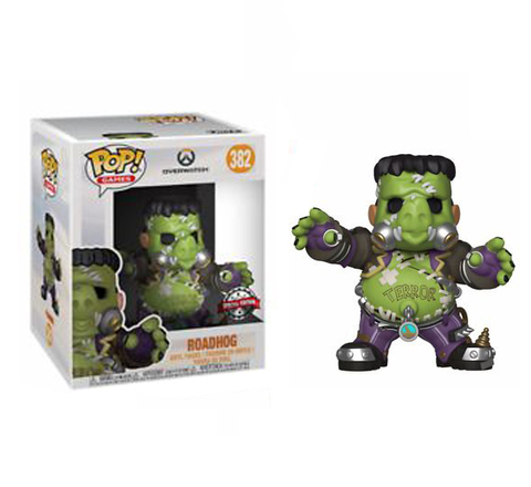 Фигурка Funko POP! Vinyl: Games: Overwatch: 6 Roadhog Junkenstein's Monster (Exc) 33214