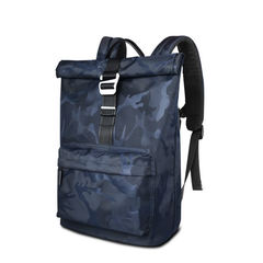 Рюкзак молодёжный WiWU Vigor синий камуфляж