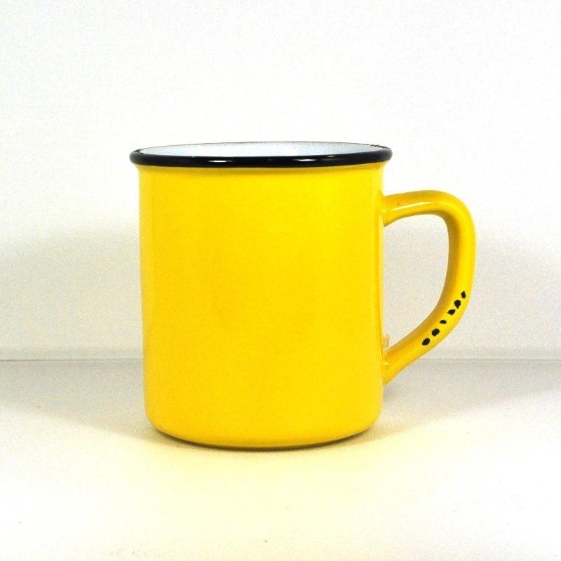 Винтажная кружка желтая (Фарфор и керамика Antic Line)