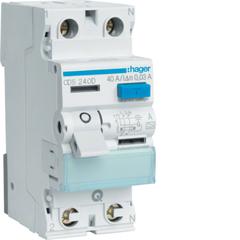 Устройство защитного отключения 2P 40A 30mA A QC