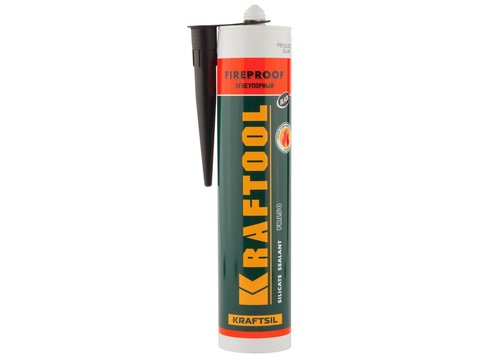 Герметик KRAFTOOL KRAFTFLEX FR150 силикатный огнеупорный