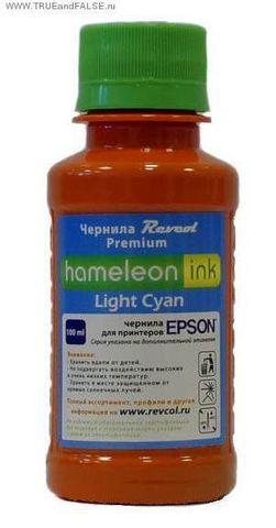 Чернила сублимационные светло-голубые (light cyan) Hameleon 100 мл