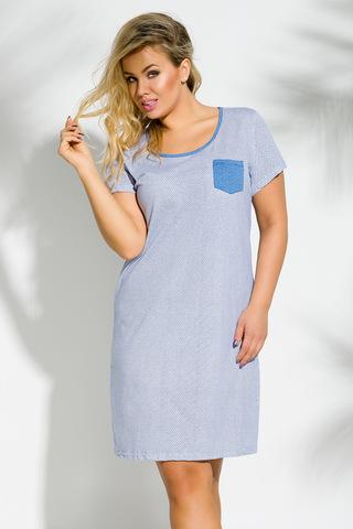 Сорочка 8S Lucy 2190 Blue Taro