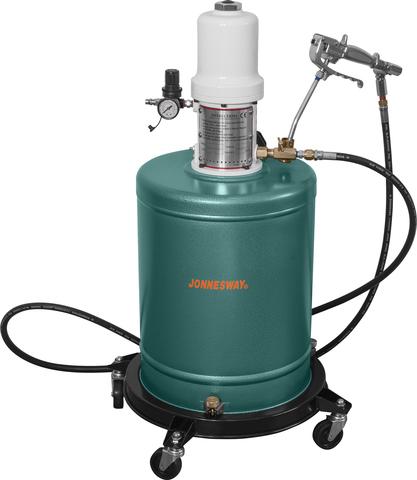 Нагнетатель консистентной смазки пневматический. Емкость 20 л.