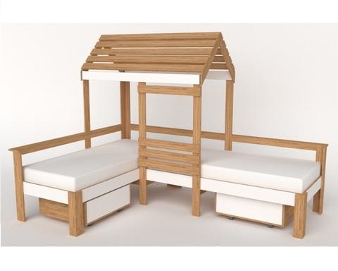 Кровать-домик АВАРА-8