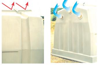 Вентиляция группового домика для телят