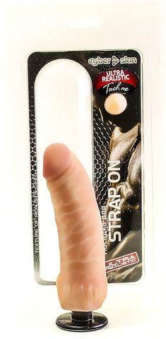 Насадка для страпона Harness Vac-U-Lock (16х4 см)