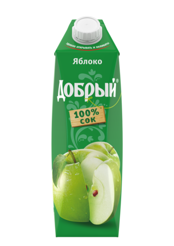 Сок Добрый Яблоко 1л