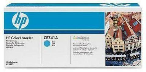 Картридж HP CE741A для принтеров HP Color LaserJet Professional CP5225, CP5225n, CP5225dn (голубой, 7300 стр.)