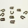 Защита ланки (тросика) от перетирания 5х4 мм (цвет - античная бронза), 10 штук