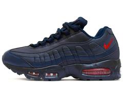 Кроссовки Мужские Nike Air Max 95 Leather Dk Blue