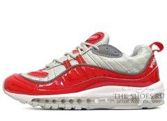 Кроссовки Мужские Nike Air Max 98 Red Grey