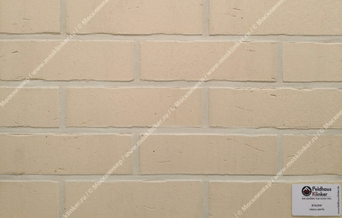 Плитка для фасада и внутренней отделки Feldhaus Klinker, VASCU, R763NF14, поверхность Wasserstrich, perla