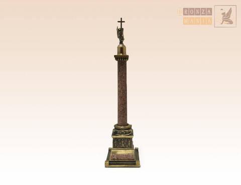 фигурка Александрийский столп гранит малый
