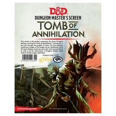 Tomb of Annihilation Dungeon Master's Screen