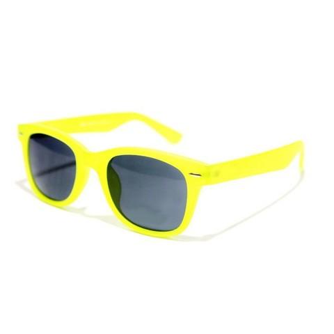 Солнцезащитные очки детские 2140002d Желтые c синими зеркальными линзами