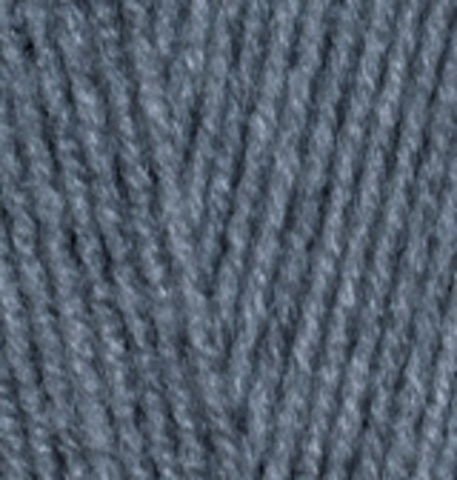 Пряжа Lanagold FINE (Alize) 381 Морская волна, фото