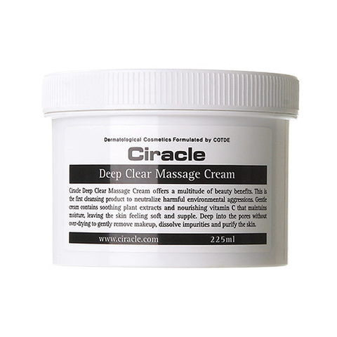 Очищающий крем Ciracle Deep Clear Massage Cream 225ml