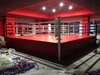 Ринг боксерский на помосте, разборный, помост 7х7м, высота 0.5м, боевая зона 6х6м.