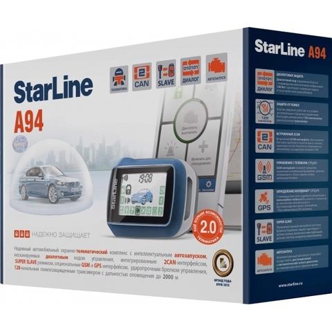 Автомобильная сигнализация StarLine A94 CAN
