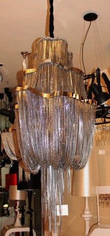chandelier Atlantis 2 by B. Baylar for Terzani ( diam . 65 cm )