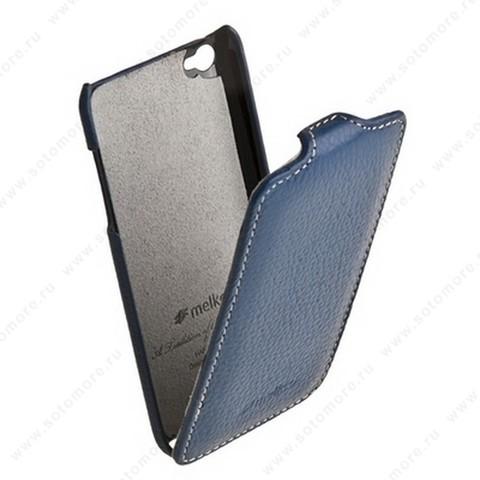 Чехол-флип Melkco для Apple iPod Touch 4th Leather Case Jacka Type (Dark Blue LC)