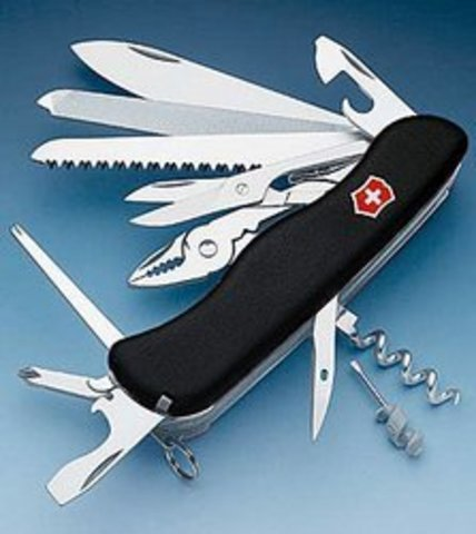 Нож Victorinox 0.9064.3 Work Champ black