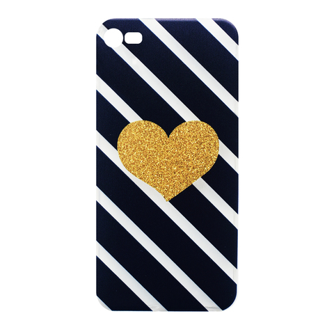 Чехол для IPhone 5/5S Gold Heart