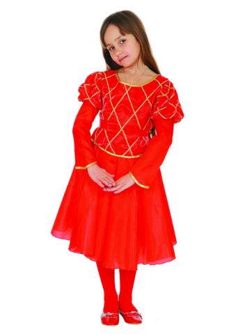 Костюм Принцесса красный