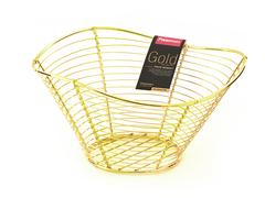 8936 FISSMAN Gold Корзинка для фруктов