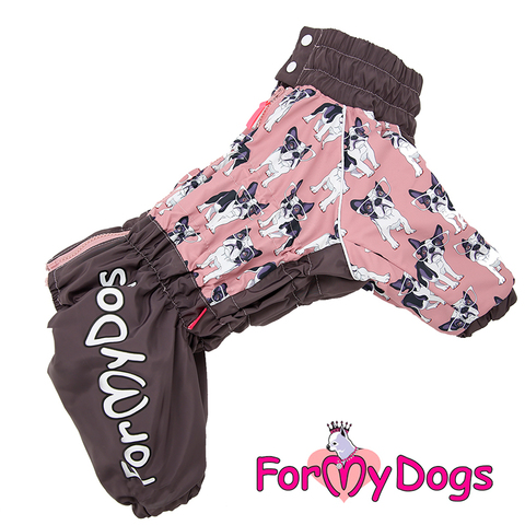 Комбинезон For My Dogs для девочек FW573/2-2018 F на меху