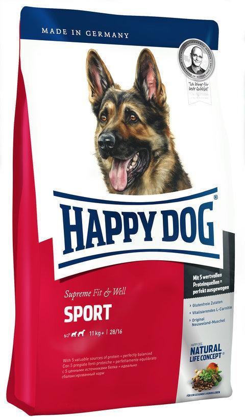 Happy Dog Корм для собак с высокой потребностью в энергии Happy Dog Supreme Fit&Well - Sport Adult Happy_Dog_Supreme_Fit_Well_-_Sport_Adult.jpg