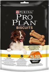 Лакомство для собак, Purina Pro Plan Light Dog Biscuits, склонных к избыточному весу или стерилизованных, с курицей и рисом