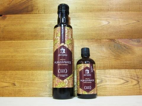 Сыродавленное масло миндаля