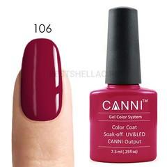 Canni, Гель-лак 106, 7,3 мл