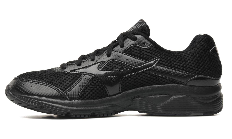 Мужская беговая обувь Mizuno Crusader 8 (K1GA1403 02) черная фото