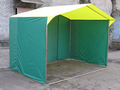 Палатка торговая «Домик» 2,5 x 1,9 (Каркас из трубы Ø18мм)