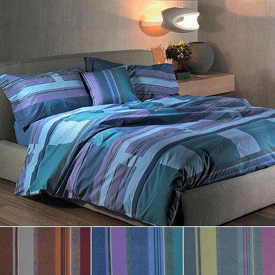 Постельное белье 2 спальное евро Caleffi Artlinea голубое