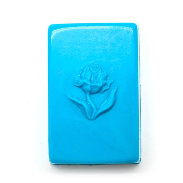 Форма для мыла Тюльпан на прямоугольнике