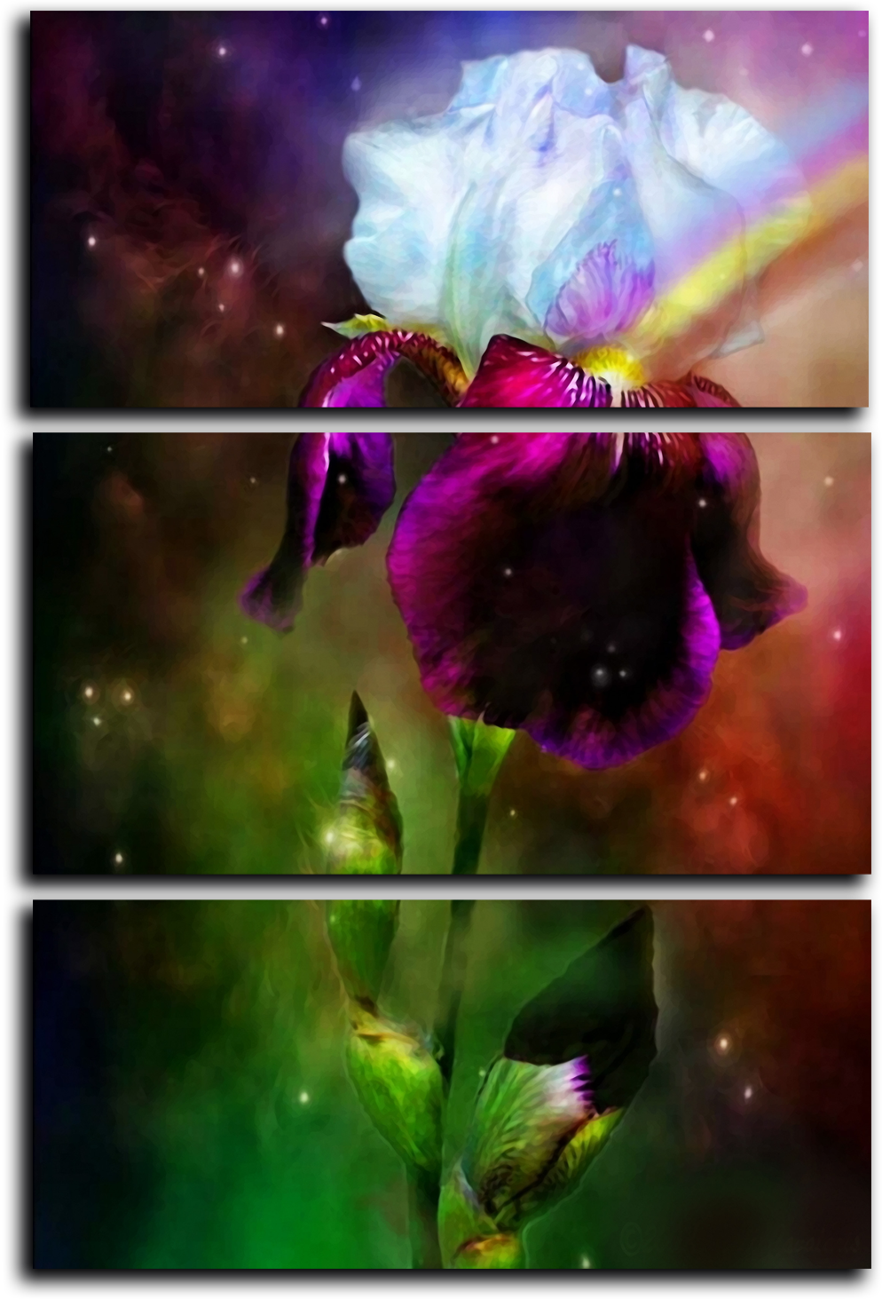 "Цветы Модульная картина ""Яркие цветы"" М745.png"