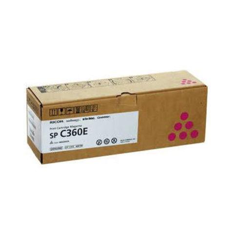 Принт-картридж Ricoh SP C360E, пурпурный. Ресурс 1500 стр. (408190)